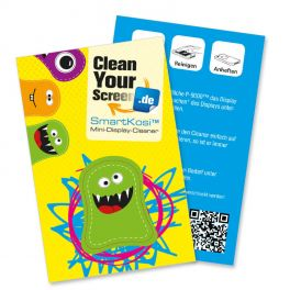 Selbsthaftende Display Cleaner Pads